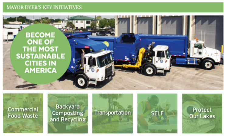 Mayor Dyer's Green Initiatives