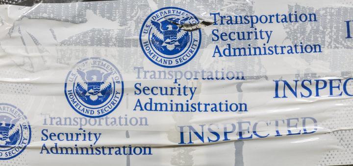 TSA-inspected baggage