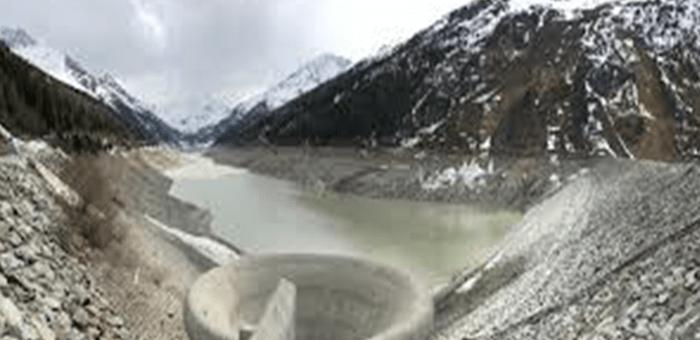 Reservoir running dry
