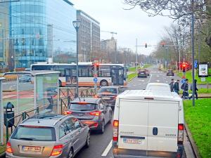 Brussels city street