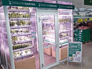 In-store garden