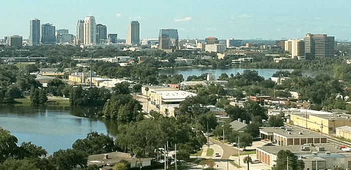 Orlando Wide Shot